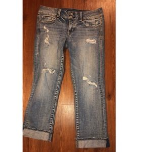 American Eagle Artist Capri Jeans